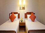 プーケット プーケットタウンのホテル : プーケット メルリン ホテル(Phuket Merlin Hotel)のデラックス(シングル)ルームの設備 Bed Room