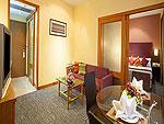 プーケット プーケットタウンのホテル : プーケット メルリン ホテル(Phuket Merlin Hotel)のジュニア スイートルームの設備 Living Area