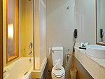 プーケット プーケットタウンのホテル : プーケット メルリン ホテル(Phuket Merlin Hotel)のジュニア スイートルームの設備 Bath Room