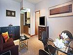 プーケット プーケットタウンのホテル : プーケット メルリン ホテル(Phuket Merlin Hotel)のエグゼクティブ スイートルームの設備 Living Area