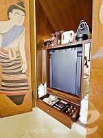 クラビ オーシャンビューのホテル : プーレイ ベイ ア リッツ カールトン リザーブ(Phulay Bay a Ritz-Carlton Reserve)のリゾート パビリオンルームの設備 Minibar