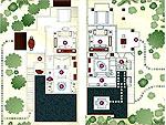 クラビ オーシャンビューのホテル : プーレイ ベイ ア リッツ カールトン リザーブ(Phulay Bay a Ritz-Carlton Reserve)のリゾート パビリオンルームの設備 Layout