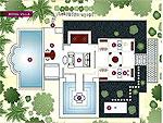 クラビ オーシャンビューのホテル : プーレイ ベイ ア リッツ カールトン リザーブ(Phulay Bay a Ritz-Carlton Reserve)のロイヤル ビーチ ヴィラルームの設備 Layout