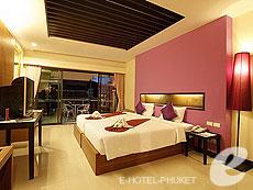 プーケット パトンビーチのホテル : プーワリー リゾート(1)のお部屋「デラックス」