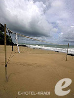 Beach Volleyball Court : Pimalai Resort & Spa, with Spa, Phuket