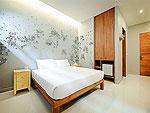 プーケット パトンビーチのホテル : ピムナラ ブティック ホテル(Pimnara Boutique Hotel)のスタンダードルームの設備 Bedroom