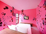 プーケット パトンビーチのホテル : ピムナラ ブティック ホテル(Pimnara Boutique Hotel)のデラックスルームの設備 Bedroom