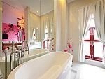 プーケット パトンビーチのホテル : ピムナラ ブティック ホテル(Pimnara Boutique Hotel)のデラックスルームの設備 Bath Room