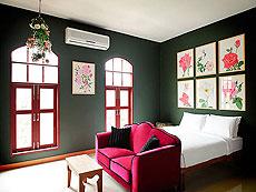 プーケット パトンビーチのホテル : ピムナラ ブティック ホテル(1)のお部屋「デラックス」