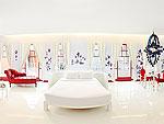 プーケット パトンビーチのホテル : ピムナラ ブティック ホテル(Pimnara Boutique Hotel)のロフト スイートルームの設備 Bedroom