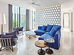 プーケット 会議室ありのホテル : コモ ポイント ヤム プーケット(COMO Point Yamu Phuket)のポイント ヤム スイートルームの設備 Living Room