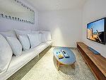 プーケット 会議室ありのホテル : コモ ポイント ヤム プーケット(COMO Point Yamu Phuket)のポイント ヤム スイートルームの設備 Living Area