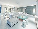 プーケット 会議室ありのホテル : コモ ポイント ヤム プーケット(COMO Point Yamu Phuket)のコモ スイート(2ベッドルーム)ルームの設備 Living Room