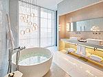 プーケット 会議室ありのホテル : コモ ポイント ヤム プーケット(COMO Point Yamu Phuket)のコモ スイート(2ベッドルーム)ルームの設備 Bath Room