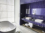 プーケット 会議室ありのホテル : コモ ポイント ヤム プーケット(COMO Point Yamu Phuket)のベランダルームの設備 Bath Room