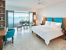 プーケット 会議室ありのホテル : コモ ポイント ヤム プーケット(1)のお部屋「ベランダ ウィズ プール」