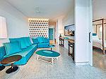 プーケット 会議室ありのホテル : コモ ポイント ヤム プーケット(COMO Point Yamu Phuket)のベランダ プール スイートルームの設備 Living Room