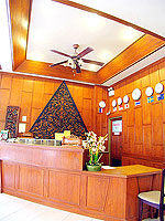 Reception : Poppa Palace, Long Stay, Phuket