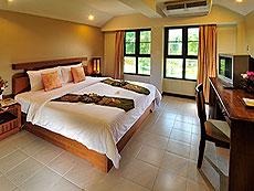 プーケット ロングステイのホテル : ポッパ パレス(1)のお部屋「スタンダード(ダブル/ツイン)」