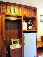 プーケット ロングステイのホテル : ポッパ パレス(Poppa Palace)のデラックス(シングル)ルームの設備 Safety Box