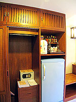 プーケット ロングステイのホテル : ポッパ パレス(Poppa Palace)のデラックス(ダブル/ツイン)ルームの設備 Safety Box