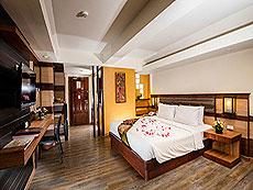 プーケット ロングステイのホテル : ポッパ パレス(1)のお部屋「デラックス スタジオ(ダブル/ツイン)」