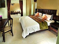 プーケット ロングステイのホテル : ポッパ パレス(1)のお部屋「ジュニア スイート」