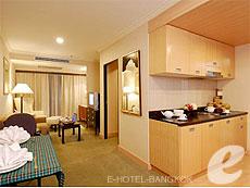Exective One Bedroom Double : Princeton Bangkok Hotel, Ratchadapisek, Bangkok