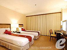 Superior Double : Princeton Bangkok Hotel, Ratchadapisek, Bangkok