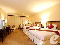 Deluxe Double : Princeton Bangkok Hotel, Ratchadapisek, Bangkok