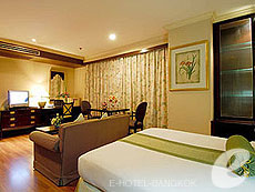 Studio Single : Princeton Bangkok Hotel, Ratchadapisek, Bangkok