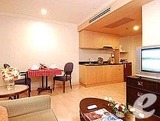 Premier One Bedroom Double : Princeton Bangkok Hotel, Ratchadapisek, Bangkok