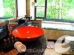 サムイ島 チョンモーンビーチのホテル : バイヨーク シーコースト サムイ(Baiyoke Seacoast Resort)のデラックス パビリオンルームの設備 Bath Room
