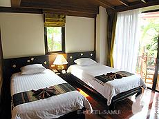 サムイ島 チョンモーンビーチのホテル : バイヨーク シーコースト サムイ(1)のお部屋「デラックス パビリオン」