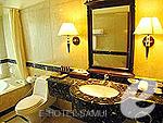 サムイ島 チョンモーンビーチのホテル : バイヨーク シーコースト サムイ(Baiyoke Seacoast Resort)の1ベッドルーム プライベート プール ヴィラルームの設備 Bath Room