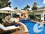サムイ島 チョンモーンビーチのホテル : バイヨーク シーコースト サムイ(Baiyoke Seacoast Resort)の2ベッドルーム プライベート プール ヴィラルームの設備 Private Pool