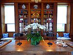 チェンマイ 旧市街のホテル : ラチャマンカ 「Library」