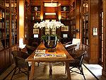 チェンマイ スパ併設のホテル : ラチャマンカ 「Library」