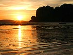 Sunset : Railay Bay Resort & Spa, Family & Group, Phuket