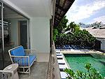 プーケット カロンビーチのホテル : ラマダ プーケット サウスシー(Ramada Phuket Southsea)のデラックス クラブ プール ビュー(ツイン)ルームの設備 Balcony