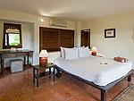 サムイ島 チョンモーンビーチのホテル : ランブータン ヴィラ(Rambutan Villa)の2ベッドルームルームの設備 Bedroom