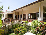サムイ島 チョンモーンビーチのホテル : ランブータン ヴィラ(Rambutan Villa)の2ベッドルームルームの設備 Exterior