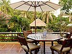 サムイ島 チョンモーンビーチのホテル : ランブータン ヴィラ(Rambutan Villa)の3ベッドルームルームの設備 Terrace