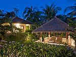サムイ島 チョンモーンビーチのホテル : ランブータン ヴィラ(Rambutan Villa)の3ベッドルームルームの設備 Sala