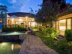 サムイ島 チョンモーンビーチのホテル : ランブータン ヴィラ(Rambutan Villa)の3ベッドルームルームの設備 Exterior