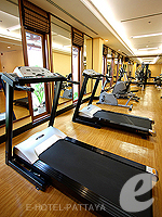 Fitness Gym : Ravindra Beach Resort & Spa, Jomtien Beach, Phuket