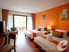 パタヤ ジョムティエンビーチのホテル : ラビンドラ ビーチ リゾート & スパ(1)のお部屋「スーペリア ルーム」