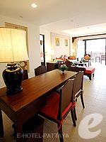 パタヤ ジョムティエンビーチのホテル : ラビンドラ ビーチ リゾート & スパ(Ravindra Beach Resort & Spa)のファミリー スイート 1 ベッド ルームルームの設備 Writing Desk