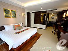 パタヤ ジョムティエンビーチのホテル : ラビンドラ ビーチ リゾート & スパ(1)のお部屋「ファミリー スイート 1 ベッド ルーム」