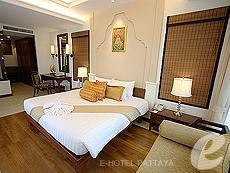 パタヤ ジョムティエンビーチのホテル : ラビンドラ ビーチ リゾート & スパ(1)のお部屋「プール ヴィラ 1ベッド ルーム」